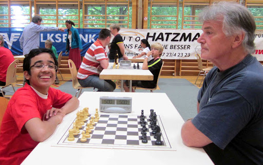akshatchandra.com~ Aditya 'Addy' playing with Helmut Stohr
