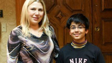 Akshat with GM Susan Polgar