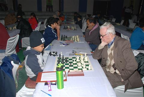 Akshat Chandra - Boris Arkhangelsky - Chess