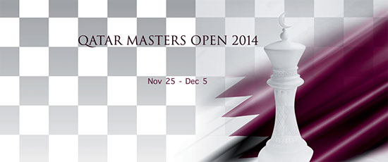 Qatar Chess Open 2014 - Akshat Chandra - Chess