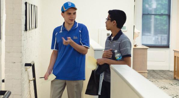 Akshat Chandra and Luke Vellotti after Round 1