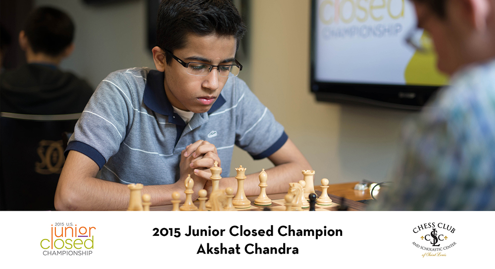 Akshat Chandra - US Junior Champion 2015